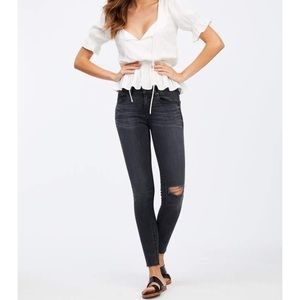Socialite gray high waisted skinny jean